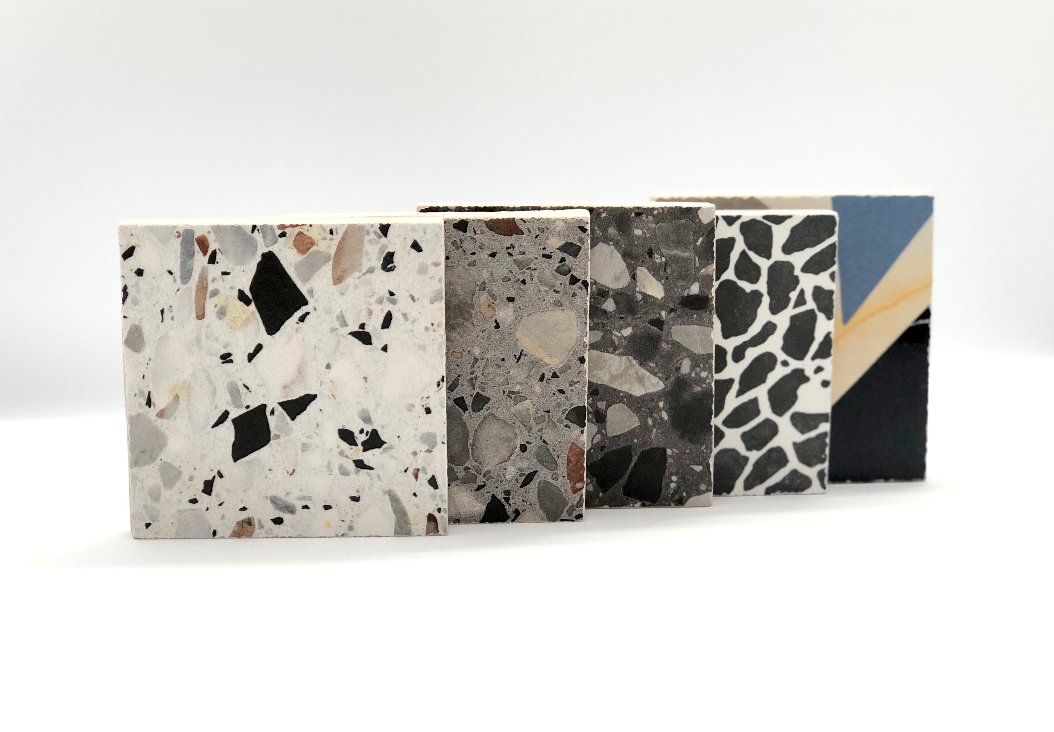 Porcelain Meets Terrazzo In Revamped Range Diespeker Co